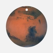 Mars Planet Christmas Tree Ornament (Round)