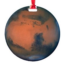 Mars Planet Christmas Tree Ornament