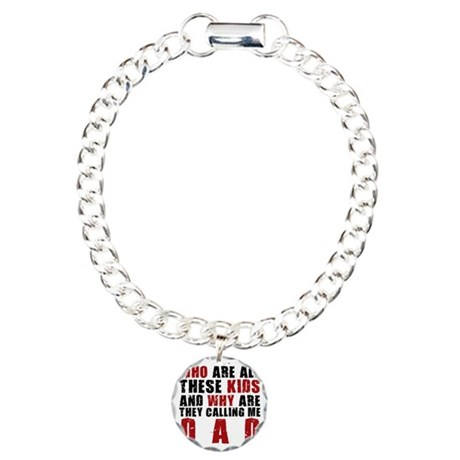 CALLDADLIGHT Charm Bracelet, One Charm