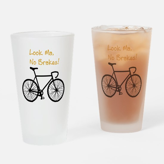 Fixie Shirt 2 Drinking Glass