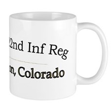 2-1st Bn 22nd Inf  Regulars cap2 Small Mug