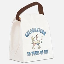 party50 Canvas Lunch Bag