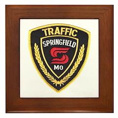 Springfield Traffic Police Framed Tile