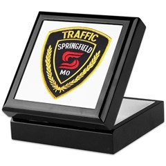 Springfield Traffic Police Keepsake Box