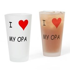 Opa Drinking Glass