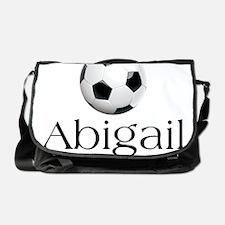 Abigail soccer Messenger Bag