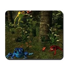 Poison Dart Frog Groave Mousepad