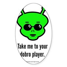 Dobro Alien Decal