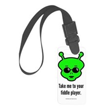 Fiddle Alien Luggage Tag