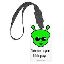 Fiddle Alien Luggage Tag