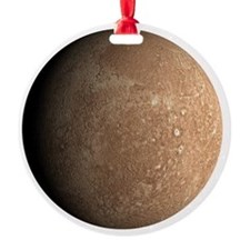 Mercury Planet Christmas Tree Ornament