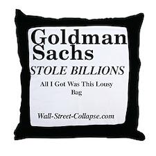 front_bag_trans Throw Pillow