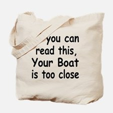 if you can read this 4 white Tote Bag