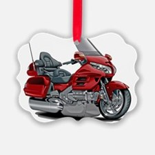 Goldwing Red Bike Ornament