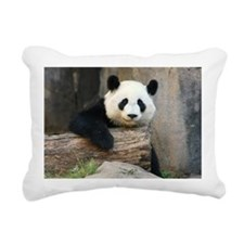 panda3 Rectangular Canvas Pillow