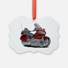 Goldwing Maroon Bike Ornament