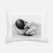 moonsnail_calendar Rectangular Canvas Pillow