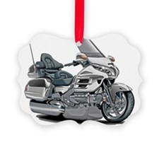 Goldwing White Bike Ornament