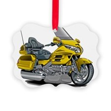 Goldwing Yellow Bike Ornament