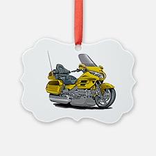 Goldwing Yellow Bike Ornament