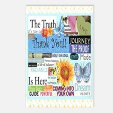 2-thanks5x7reg Postcards (Package of 8)
