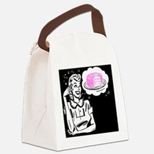 CakePost Canvas Lunch Bag