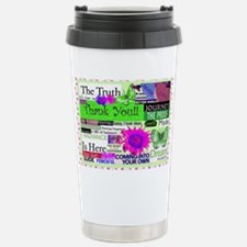 thanks14x10lgprint Travel Mug