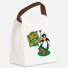LHS Logo Canvas Lunch Bag