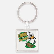 LHS Logo Square Keychain