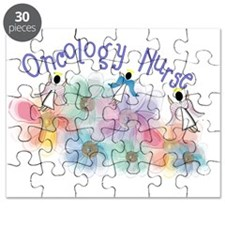 Oncology Nurse Whispy Angels Puzzle