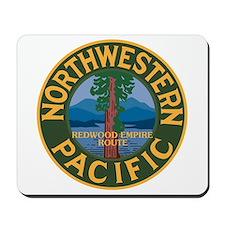 Northwestern Pacific Railroad Mousepad