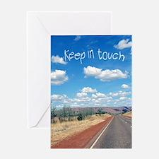 openroad_11x17_print Greeting Card