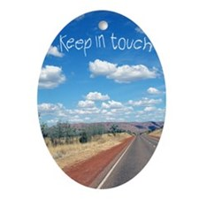 openroad_11x17_print Oval Ornament