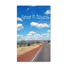 openroad_11x17_print Rectangle Car Magnet