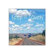 "openroad_11x11_pillow Square Sticker 3"" x 3"""