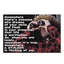 Stalker Anti-Valentine Postcards (Package of 8)