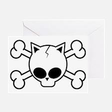 catskull-cp1 Greeting Card