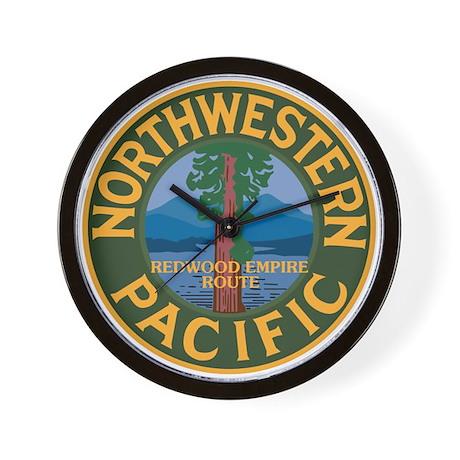 Northwestern Pacific Railroad Wall Clock