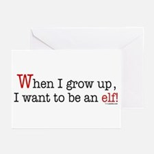 ... an elf Greeting Cards (Pk of 10)