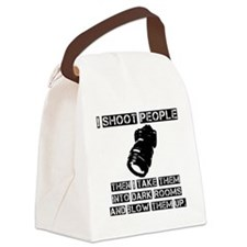I-shoot-people2 Canvas Lunch Bag