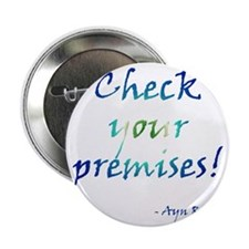 "Check Your Premises 2.25"" Button"