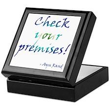 Check Your Premises Keepsake Box