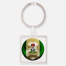 2-Nigeria World Cup 2 Square Keychain