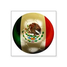"""Mexico World Cup 1 Square Sticker 3"""" x 3"""""""