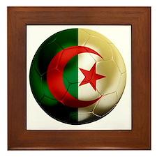 Algeria Football Framed Tile