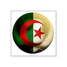"""Algeria Football Square Sticker 3"""" x 3"""""""