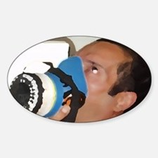 itsagas[208_H_F] Sticker (Oval)