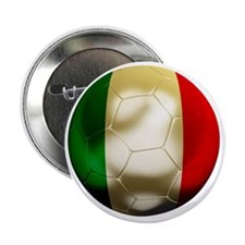 "Italy Football 2.25"" Button"