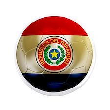"Paraguay Football 3.5"" Button"