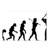 Evolution of baseball Stationery